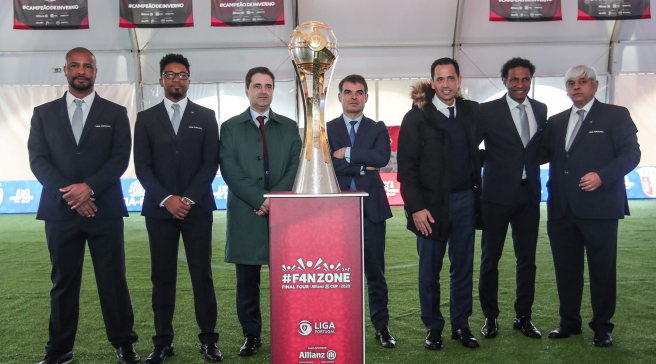 ALLIANZ CUP | FAN ZONE ABRE PORTAS NA AVENIDA CENTRAL